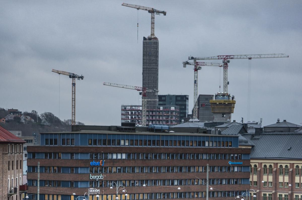 Citygate blir ett nytt landmärke i Göteborg. Med sina 36 våningar och 144 meter blir byggnaden Nordens högsta kontorshus