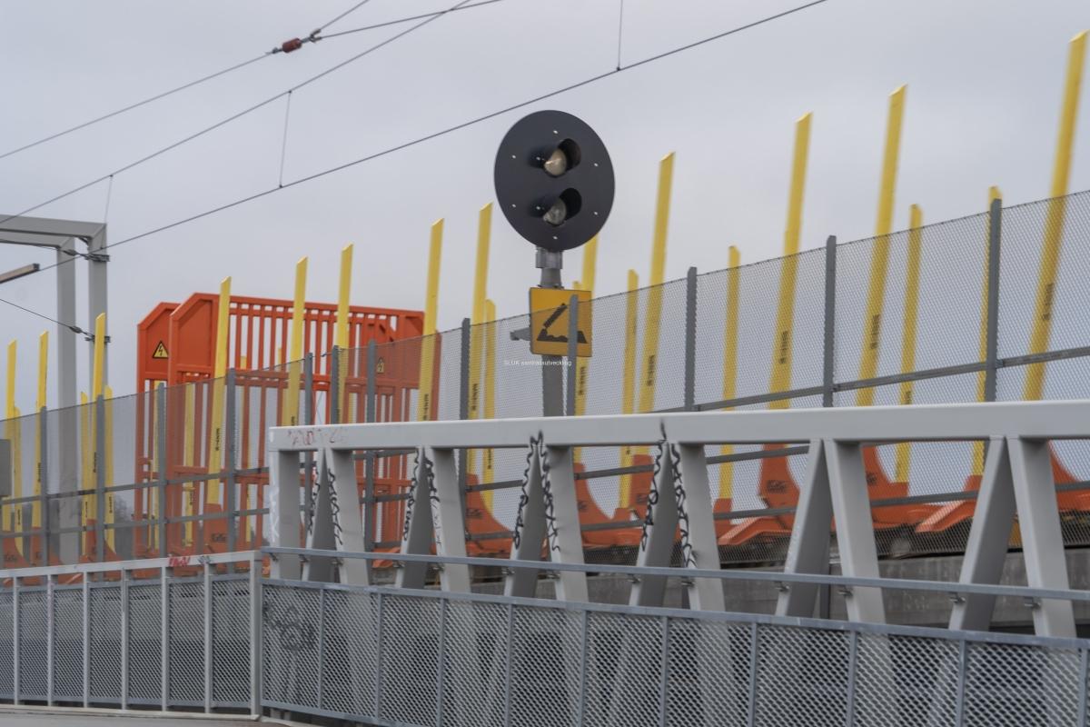Godstågen får vara längst 750 meter långa.