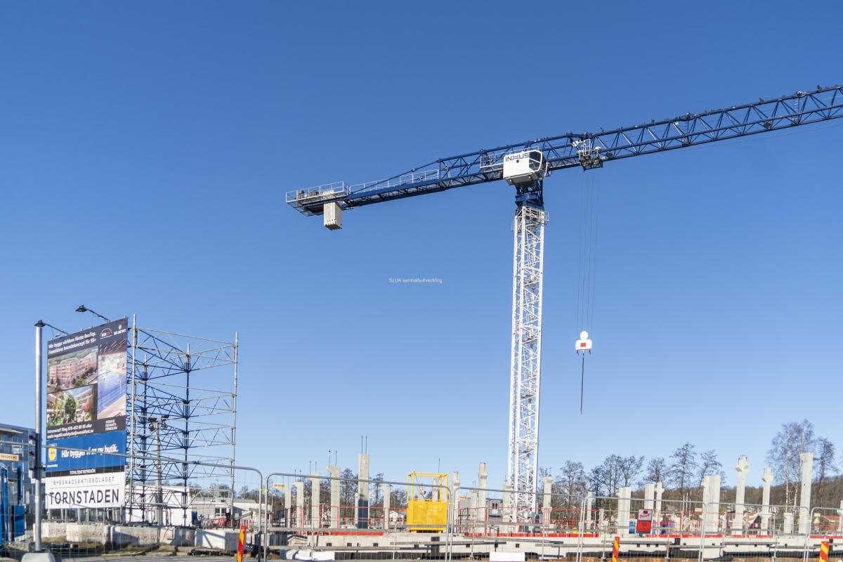 I Mölnlycke centrum byggs Bontop, ett boende för +55.