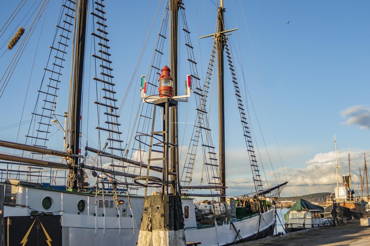 Föreningen är ideell och har som syfte att inneha och rusta upp kulturhistoriskt intressanta fartyg. Kajen är ca 600 meter lång.