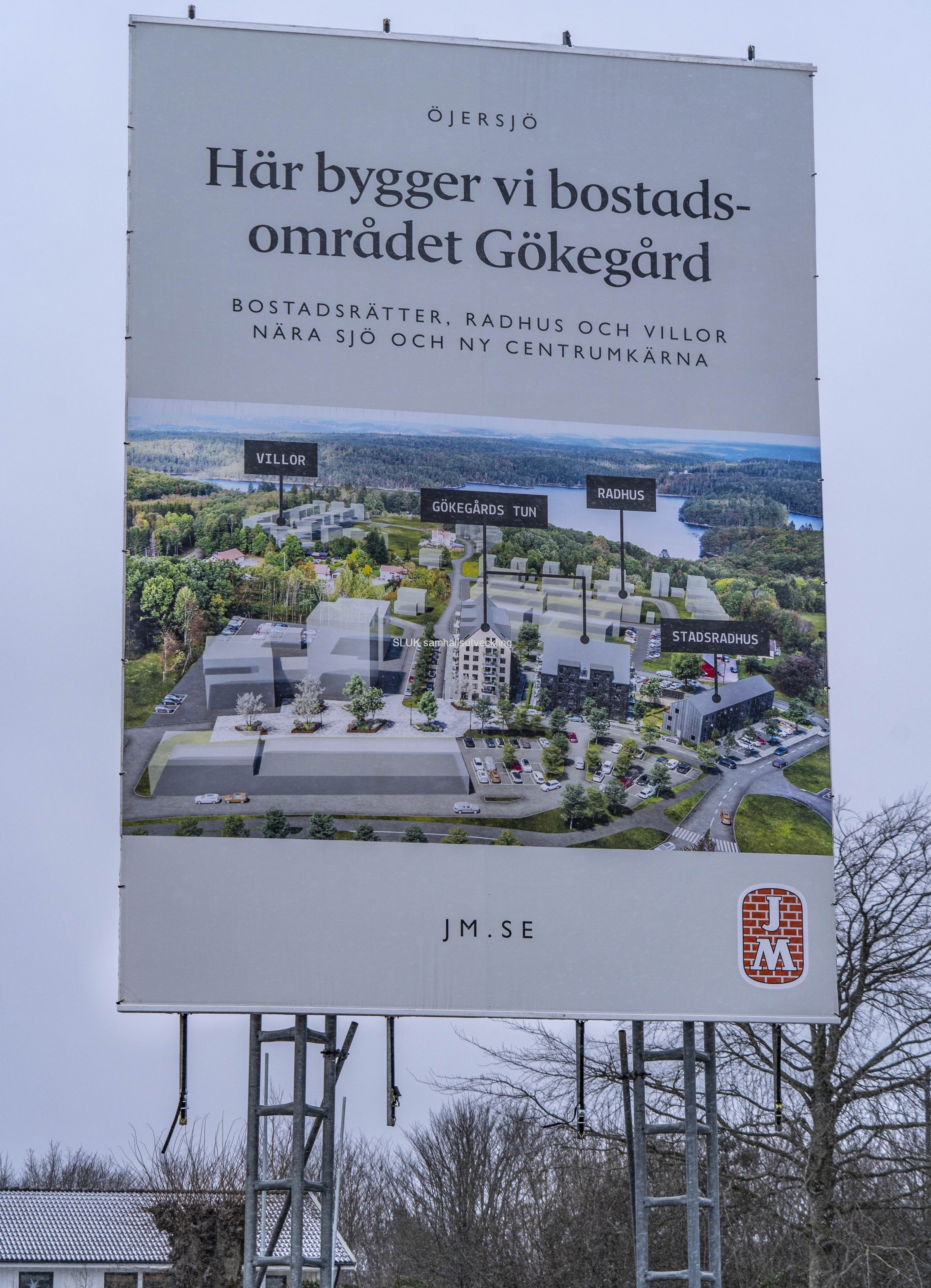 I Öjersjö  kommer man att bygga 500 bostäder.
