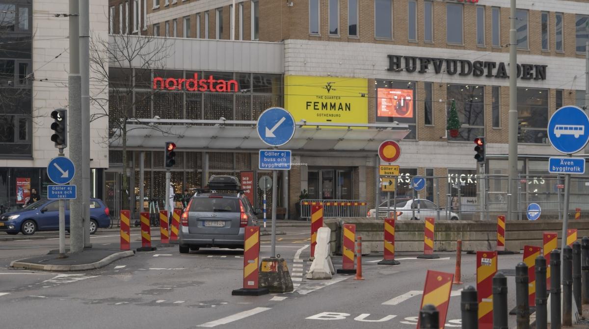 Fr om den 13 december är biltrafiken på Götaälvbron avstängd för gott mot Hisingen. Avstängningen berör inte kollektivtrafiken, gående och cyklisterna.