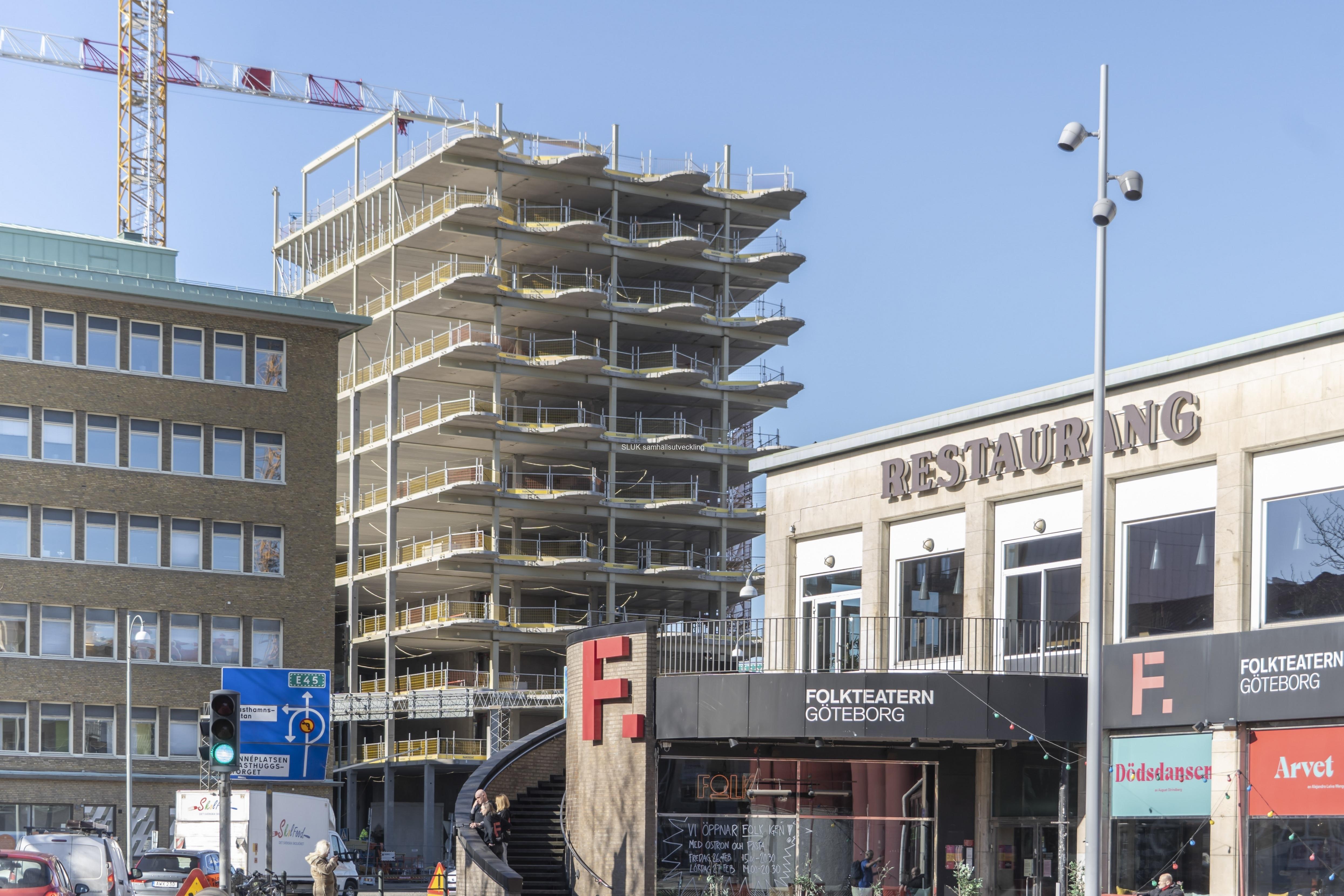 Det har hänt en del sedan jag besökte Masthuggskajen i oktober. Masthuggskajen blir Sveriges första hållbarhetscertifierade stadsdel.