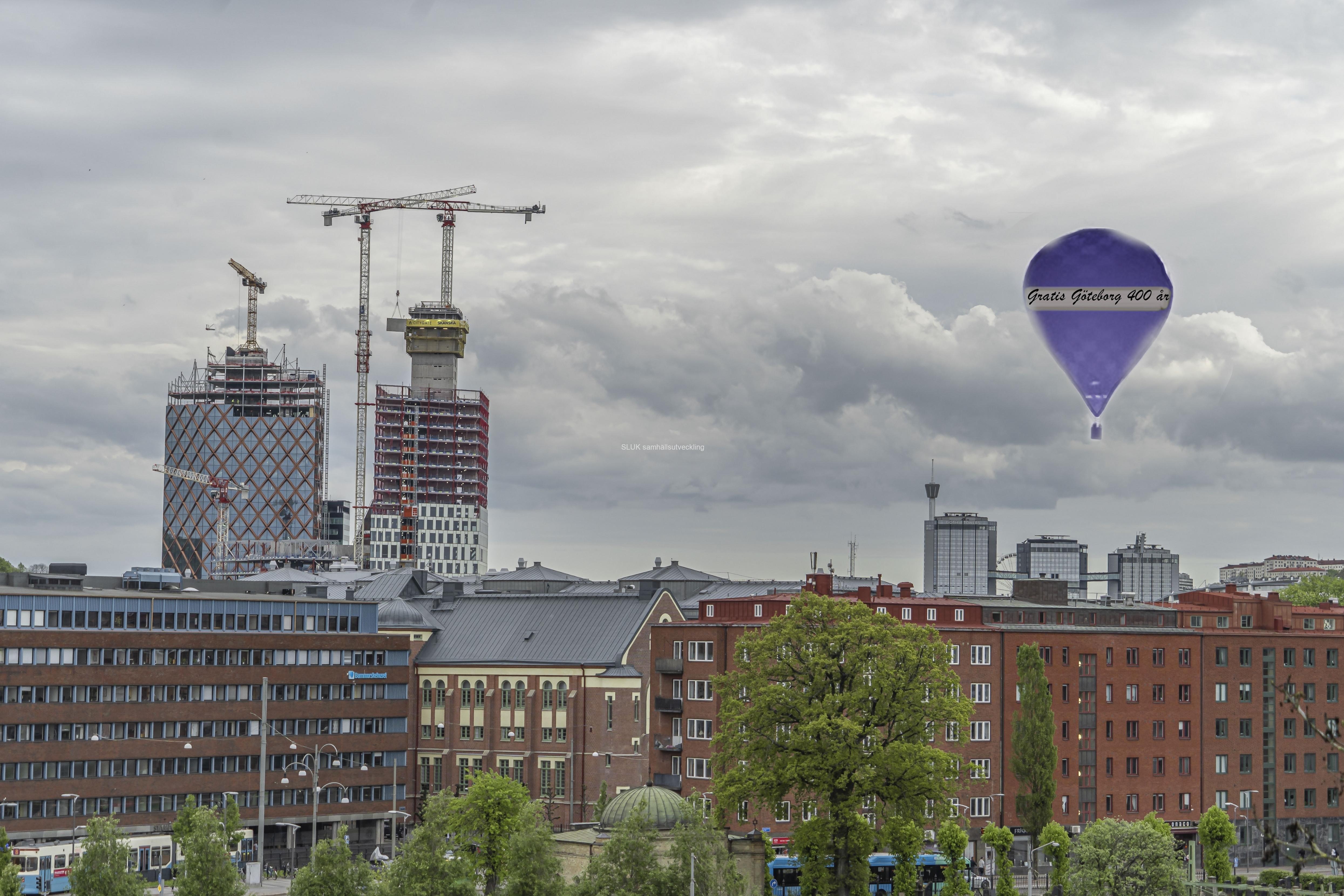 Många gratulationer Göteborg 400 år!