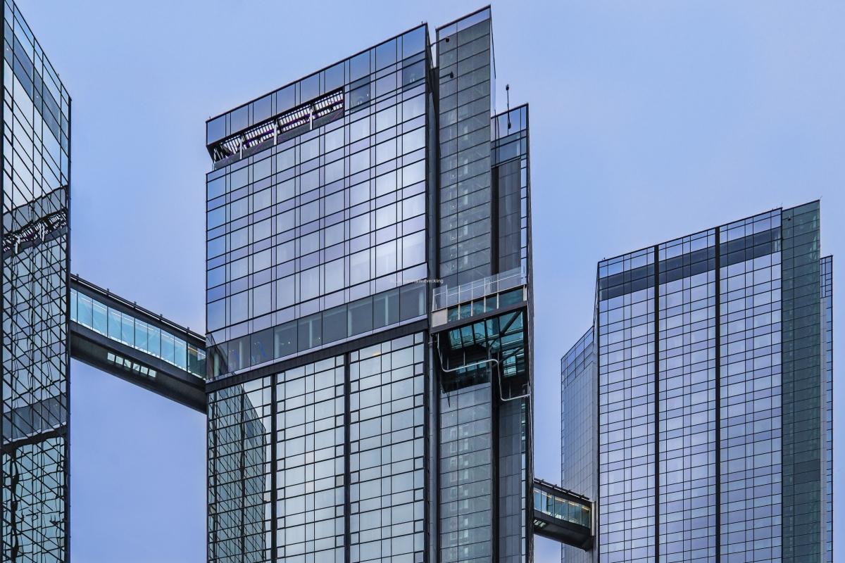 Gotha Towers tre byggnader.