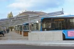 Resecentrum Åkareplatsen oktober 2018