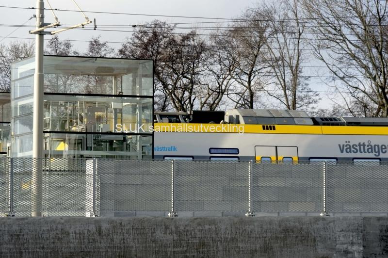 Pendeltåg Gamlestaden år 2017