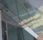 Reflektion glas