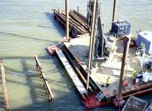 Broarbete har påbörjats  mars 2017