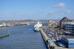 Göta älv vy från Götaälvbron 2017