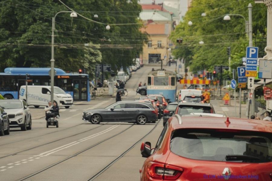 Stopp trafiken mot Rosenlundsgatan