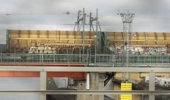 Godståg mot Göteborgs hamn 2017