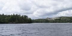 Landvettersjön från Långenäsvägen