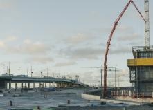 Parallellt med Götaälvsborgsbron byggs Hisingsbron