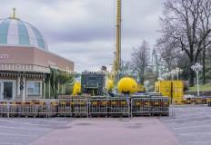 Nu rivs restaurangerna The Greenroom och Stjärnornas krog . De kommer att  återuppbyggas  och anpassas  till schaktet som passerar bakom. De nya restaurangerna är planerade att öppna i juni 2020 vilket betyder att Liseberg kommer stå utan de två restaurangerna under en period i april och maj.