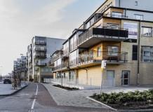 Den så kallade Partillebo Hallen med ett antal lägenheter är färdigbyggd sedan våren 2019.