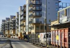 Nya bostäder Partille centrum år 2017