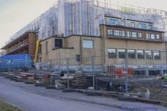 Den nya Partillebo hallen byggs, klar juni 2019