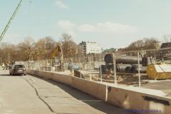 Haga Parkgatan är en byggarbetsplats