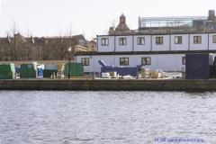 Byschor på andar sidan kanalen