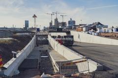 Nedsänkningen av E45 och den nya Gullbergstunneln. I mitten av december öppnar Trafikverket upp det norra av de två tunnelrören för trafik.