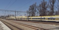 Terminalen blir en avställningsplats för tågen