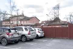 Bangårdens parkering år 2017