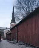 Domkyrkan och Kyrkbacken
